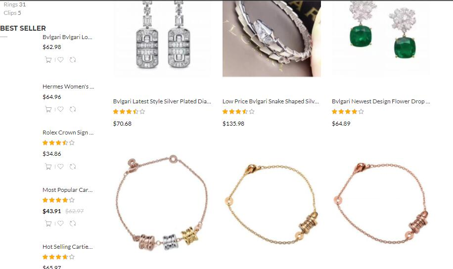 cheap Bvlgari jewelry sale at elog.io