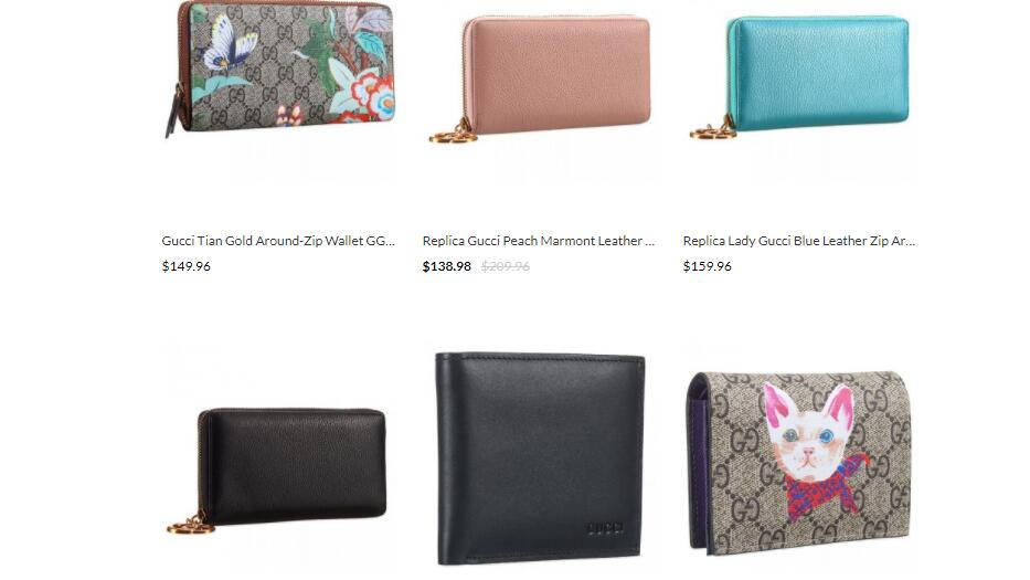 replica Gucci wallets sale at scrabb.ly